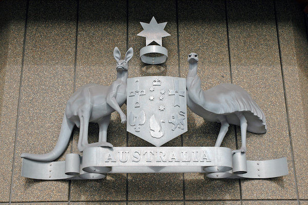 Australischer Coat of Arms