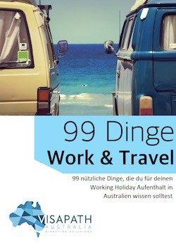 Die Broschüre für selbst organisierte Working Holiday in Australien