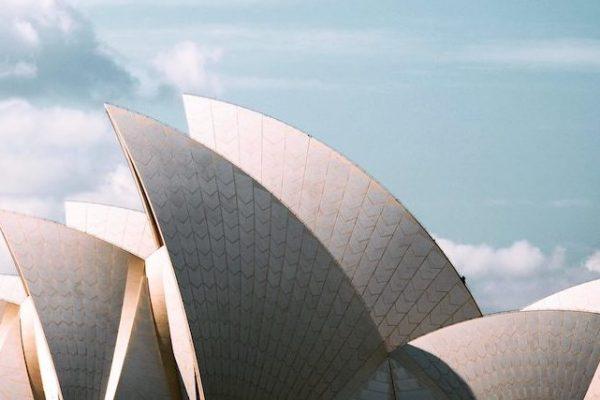 Dach des Opernhauses in Sydney